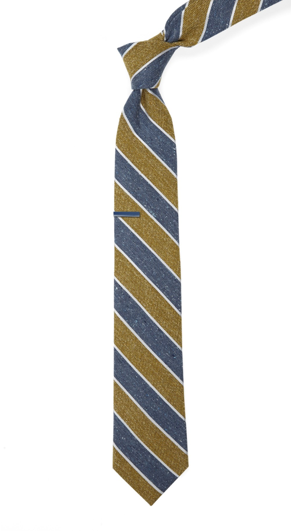 New 1920s Mens Ties & Bow Ties Splattered Repp Stripe $19.00 AT vintagedancer.com