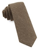 Ties - Threaded Zig-zag - Brown