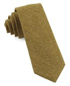 Ties - Threaded Zig-zag - Mustard