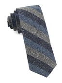 Ties - Varios Stripe - Serene Blue