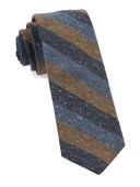 Ties - Varios Stripe - Brown