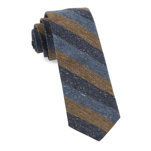 varios stripe brown ties