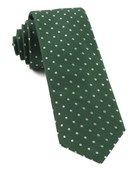 Ties - Dotted Dots - Clover Green