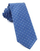 Ties - Dotted Dots - Light Cobalt Blue
