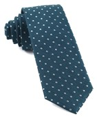 Ties - Dotted Dots - Teal