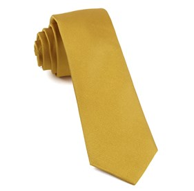 Gold Grosgrain Solid ties