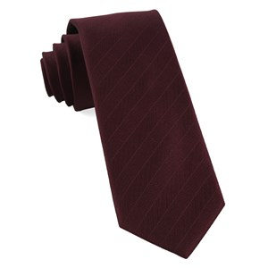 herringbone vow burgundy boys ties