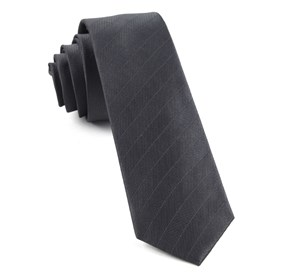 Charcoal Herringbone Vow boys ties