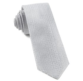 Light Silver Opulent ties