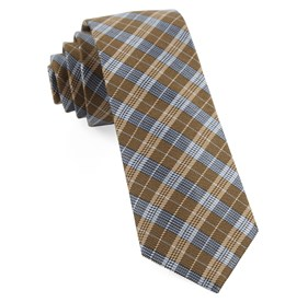 Mustard Emerson Plaid ties