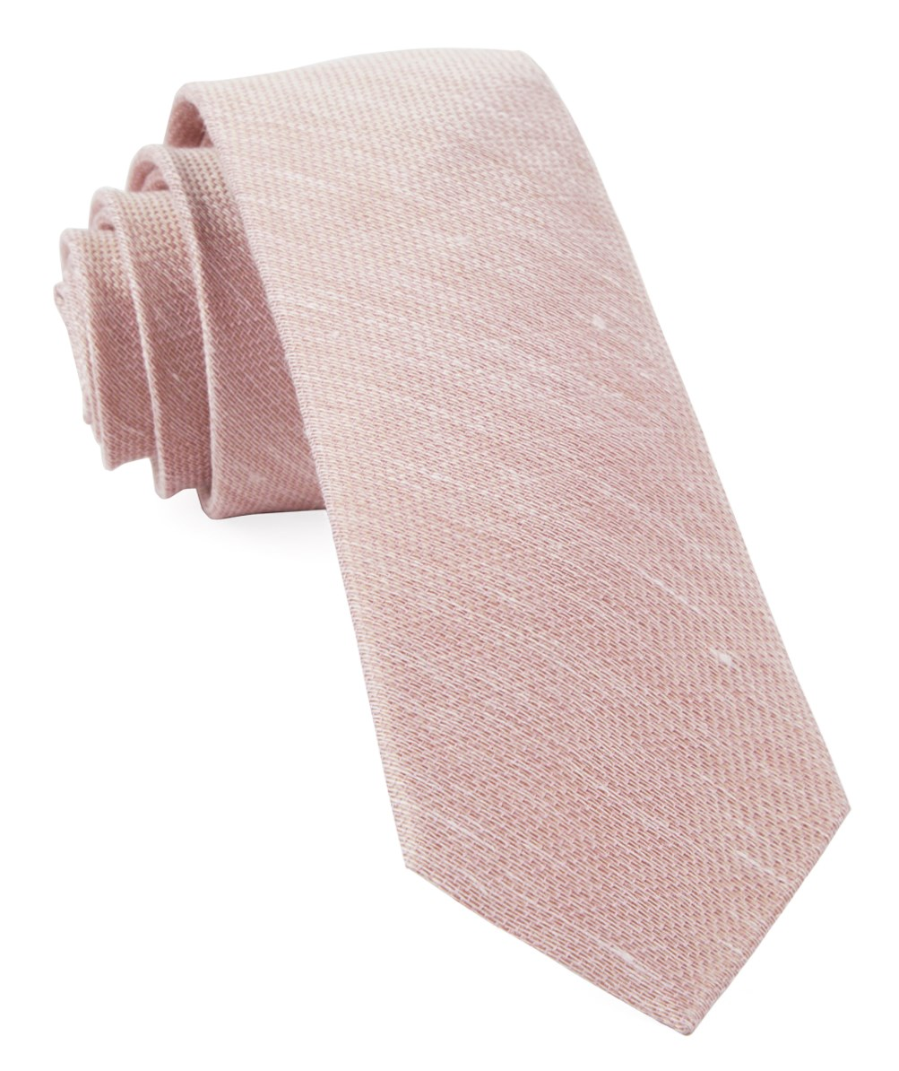 Blush Jet Set Solid Tie Men S Ties The Tie Bar