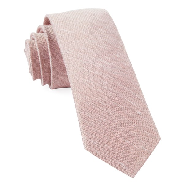 Blush Jet Set Solid Tie