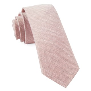 jet set solid blush ties