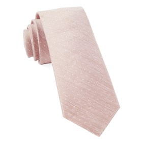 Blush Destination Dots ties