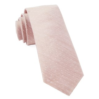 destination dots blush ties