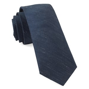 fountain solid true navy ties