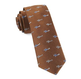 Bronze Airplane Fleet ties