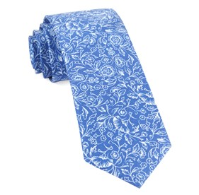 Royal Blue Bracken Blossom ties