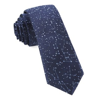 Constellation Space Navy Tie