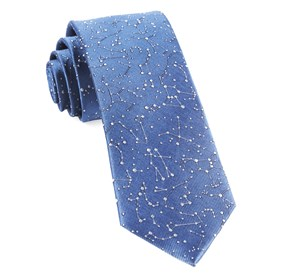 Blue Constellations ties