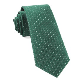 Emerald Green Medallion Lane ties