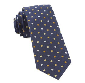Yellow Spree Dots ties