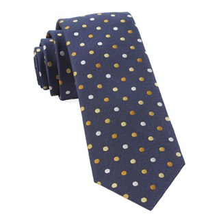 Spree Dots Yellow Tie