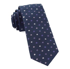 Purples Spree Dots ties