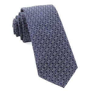 triad navy ties