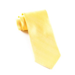 herringbone yellow gold ties