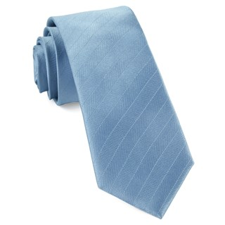 herringbone vow steel blue ties