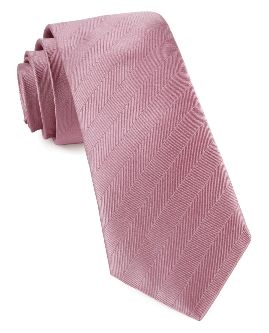 c24f5f9182 Dusty Rose Herringbone Vow Tie - Dusty Rose Herringbone Vow Tie primary  image ...