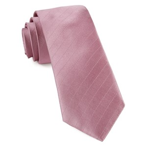 herringbone vow dusty rose ties