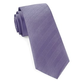 Lavender Herringbone Vow ties