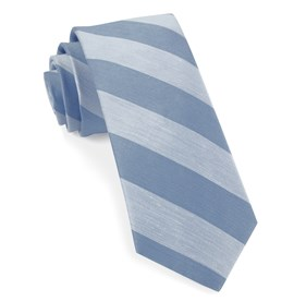 Rsvp Stripe Light Blue Ties