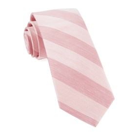 Blush Pink Rsvp Stripe ties