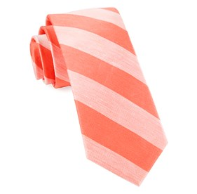 Coral Rsvp Stripe ties