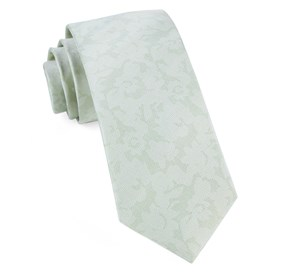 Spearmint Refinado Floral ties