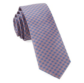 Pink Commix Checks ties
