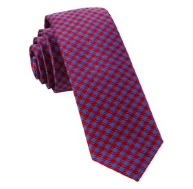Red Commix Checks ties