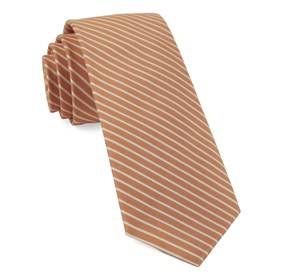 Pier Stripes Orange Ties