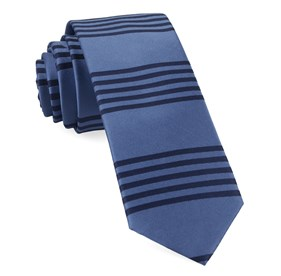 Turf Stripes Cornflower Blue Ties