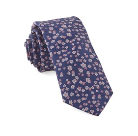 Free Fall Floral Pink Ties