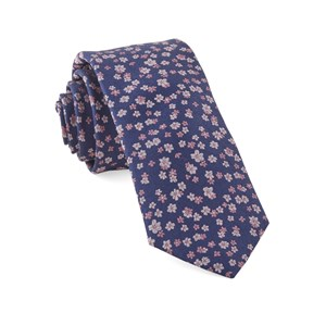 free fall floral purple ties