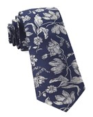 Ties - Floral Swell - Navy