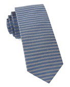 Ties - Mighty Stripe - Royal Blue