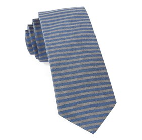 Mighty Stripe Royal Blue Ties