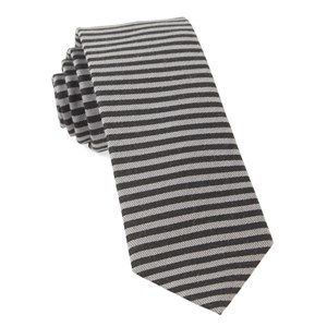 mighty stripe black ties