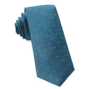 arrow zone teal ties
