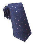 Ties - Heart To Heart - Navy